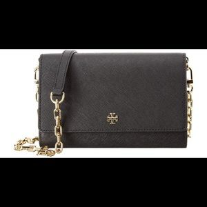 NWT Tory Burch Emerson Chain Wallet